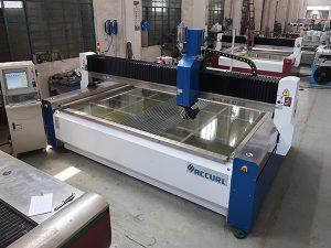 2000 * 1500mm 380 mpa abrasivo templado y vidrio laminado de alta presión CNC máquina de corte por chorro de agua