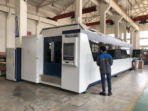 500W 700W 1kw, 2kw, 3kw, hoja de metal CNC Máquina de corte por láser de fibra óptica precio con Trumpf, IPG