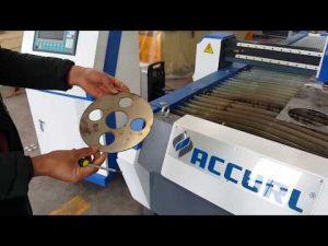 Máquina cortadora de plasma CNC para corte de chapa con Hypertherm PowerMax 125