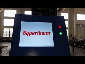 Máquina de corte por plasma CNC y de corte por llama OXY con plasma Hypertherm HyPerformance HPR400XD
