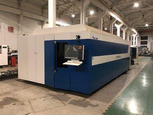 Máquina de corte por láser de fibra CNC de alta potencia para trabajos de corte por láser en talleres de corte por láser de acero inoxidable