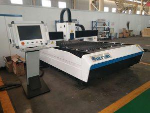 Venta caliente Máquina de corte por láser de fibra CNC Máquina de corte por láser de chapa Precio