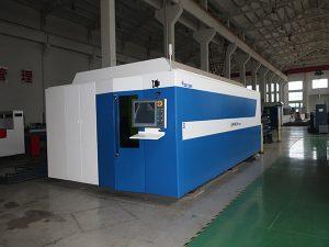 La industria utiliza ampliamente la máquina de corte por láser de fibra 750w / 1000w precio