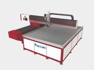 máquina de corte por chorro de agua abrasivo de superficie lisa cortador de piedra por chorro de agua de bajo ruido