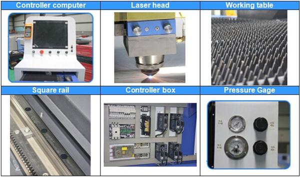 máquina de corte por láser de china 2