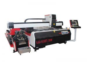 corte por láser de metal / precio de la máquina de corte por láser / máquina de corte por láser de acero inoxidable