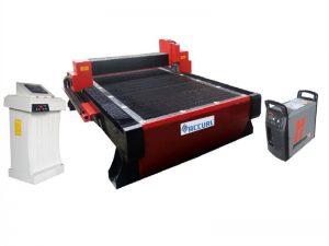 máquina de corte por plasma de tubos cnc de acero inoxidable utilizada para la industria de armaduras de acero