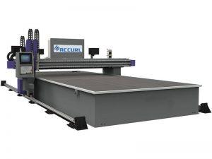 cnc miller máquina de antorcha de corte por plasma 16 mm de acero / hierro para la venta