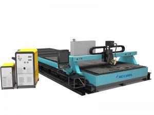 cortadora de plasma cnc de tubo de tubo de aluminio de acero máquina de corte por plasma