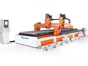 500w 1000w fabricante que corta directamente la máquina de tubo cnc de corte por láser de metal