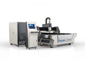 precio barato de la cortadora del laser de la chapa del tubo de corte de la fibra 800w