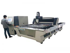 Proporcionar servicio de ultramar máquina de tubo / tubo de corte de fibra con 3 años de garantía