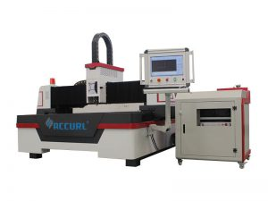 Equipo de corte por láser de fibra cnc protector de pantalla usado en fábrica de la máquina láser accurl