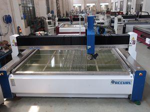 máquina de corte por chorro de agua para corte de vidrio con certificaciones CE TUV ISO9001 aplicadas estándar aplicada